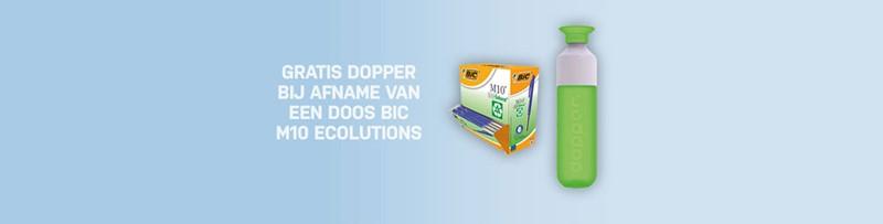 Gratis Dopper bij Bic balpennen